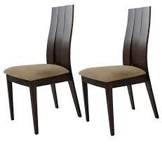 chaise wengé 2 chaises wenge et haute qualite chaise topkoo