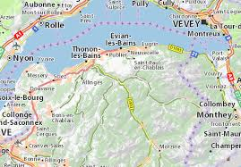 map of montreux bioge map detailed maps for the city of bioge viamichelin