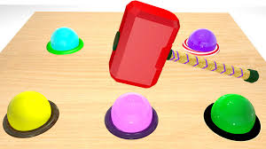 new 3d kids learning video learn colors with wooden toy balls for