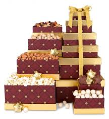 gift towers classic snack tower gift towers a classic six box gift
