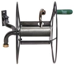 lewis wall mount mighty hose reel 75 ft srm 90