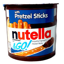 wholesale pretzel rods nutella and go with pretzel sticks free shipping 25 munchpak
