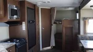 Rv Bunk Bed Ladder Travel Trailer With Bunk Beds And Outdoor Kitchen Interior