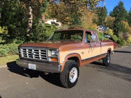 1984 ford f250 diesel mpg ford f 250 extended cab 1986 brown for sale