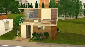 tiny house with basement mod the sims tiny house series family modern