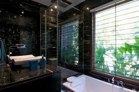 Dark Bathroom by Dark Bathroom Dinesh Mill Bungalow In Baroda India By Atelier Dnd