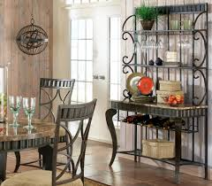 Bakers Rack With Wine Glass Holder Nice Kitchen Bakers Racks With Grey Color Metal Kitchen Bakers