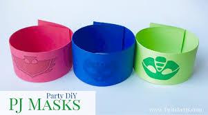 pj masks party diy fast fun party ideas twitchetts