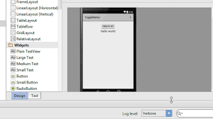 android toggle button android studio tutorial 13 working with toggle button
