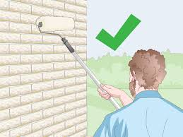 how to paint bricks 14 steps with pictures wikihow
