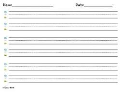 printable lined paper grade 2 image result for fundations writing lines fundations elementary