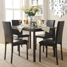 5 piece table and chair set catania 5 piece dining table chair set