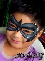 robin face paint halloween costumes treats pinterest