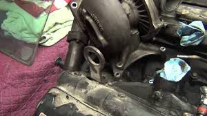 turbo removal on 1997 7 3l power stroke diesel out of truck youtube
