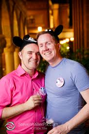 orlando photographers disney world fairytale lgbt wedding photographers