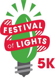 fantasy of lights 5k festival of lights 5k 2017 jacksonville florida 1st place