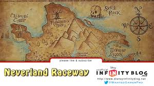 Neverland Map Disney Infinity Neverland Raceway Toy Box Youtube