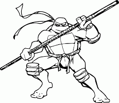 free printable ninja turtle coloring pages coloring