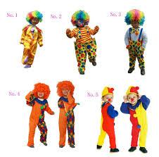 online get cheap clown halloween costumes for kids aliexpress com