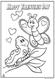 valentines color page happy valentines day coloring pages 06