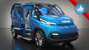 concept van iveco vision concept the van of the future youtube