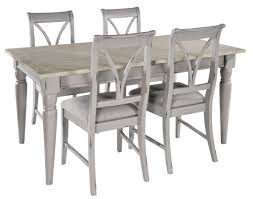 grey shabby chic extendable dining table bovary