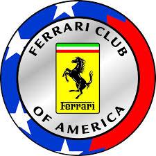 ferrari emblem business cards for ferrari club of america las vegas chapter members
