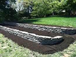 garden ideas physicians council flower landscaping stones for