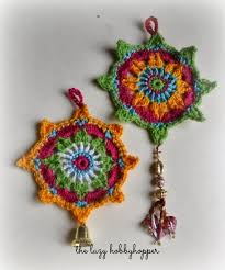 crochet ornament free pattern the lazy hobbyhopper free