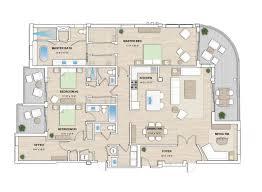 Elegant Floor Plans by Floorplans The Pearl Sarasota Florida Elegant And Distinctive