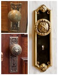 Vintage Interior Door Hardware Form U0026 Function Of Architectural Features The Artistry Of Vintage