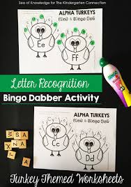 thanksgiving rhymes turkey letter recognition activity the kindergarten connection