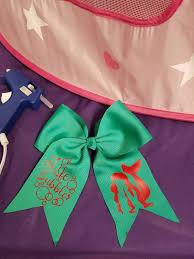 mermaid ribbon is the bubbles mermaid bow