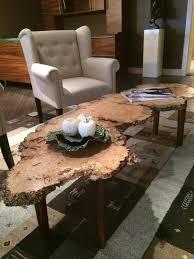 burled live edge coffee table wood shop luxe home philadelphia