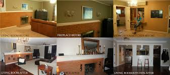Before And After Home Decor by Awesome Living Room Remodel Before And After Ideas Awesome