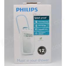 radio im badezimmer philips ae2330 00 badezimmer spritzwasser clock radio 3x aa