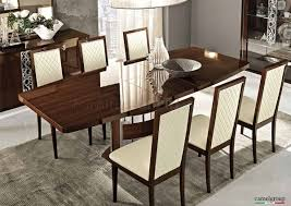 Walnut Dining Room Table Dining Table In High Gloss Walnut By Esf W Options