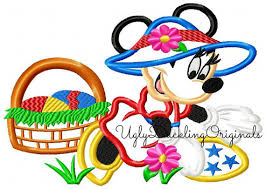 minnie mouse easter egg minnie applique design mouse easter egg hunt machine