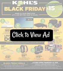 kohl s black friday sales 2017 just released saving dollars