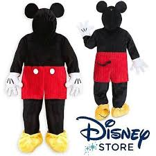 disney store mickey mouse plush kids child halloween costume sz xs