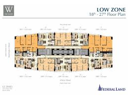 Park West Floor Plan by Condominiums