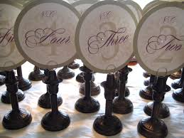 Vintage Table Number Holders If You Can U0027t Find It U2026then Make It Love Paper Paint