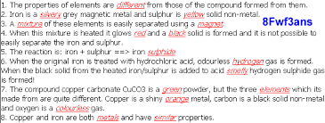 answers for 8f compounds and mixtures ks3 chemistry ks3 science