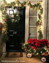 Outdoor Christmas Decorations Used by Let The Holiday Decorating Begin Winter Christmas Porch And