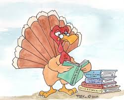 books about thanksgiving turkey reading a book clipart clipartxtras