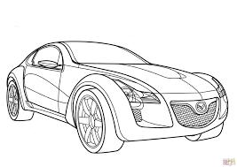 mazda car line mazda kabura coloring page free printable coloring pages