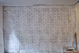 painting interior brick wall white u2013 home mployment