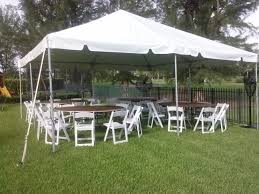 tent and chair rentals packages party rental miami