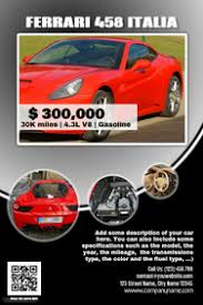 customizable design templates for car for sale postermywall