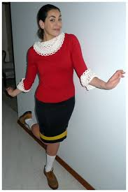 olive oyl costume olive oyl popeye costumes appropriate for work